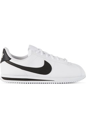 Nike Kids White & Black Cortez Basic SL Sneakers