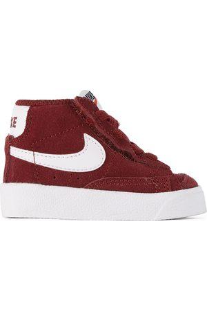 Nike Baby Burgundy Suede Blazer Mid '77 Sneakers