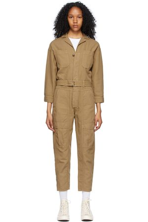 Citizens of Humanity Brown Willa Utility Jumpsuit