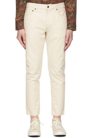 Nudie Jeans Off-White Gritty Jackson Jeans