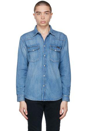 Nudie Jeans Blue George Shirt