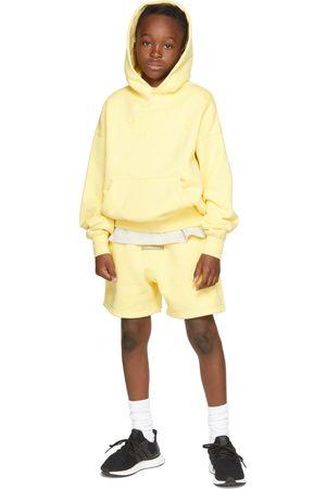 Essentials Kids Yellow Fleece Pullover Hoodie