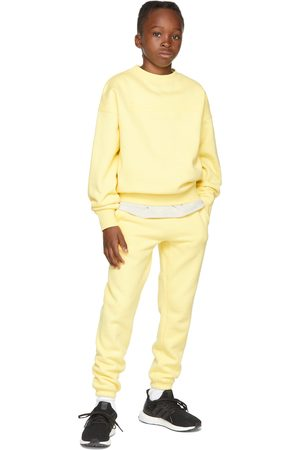 Essentials Kids Yellow Fleece Pullover Sweatshirt