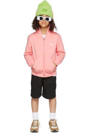 Acne Studios Kids Pink Patch Hoodie