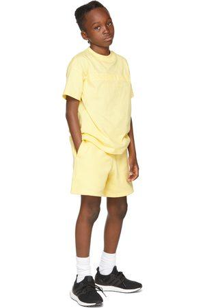 Essentials Kids Yellow Logo T-Shirt