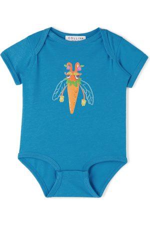 Collina Strada SSENSE Exclusive Baby Bug Printed Bodysuit