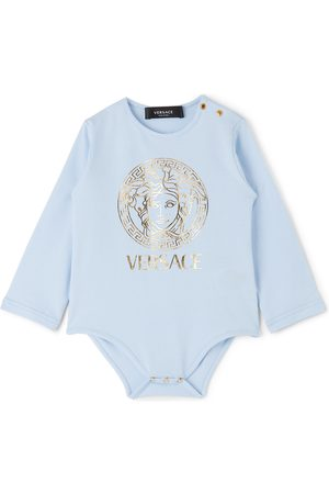 VERSACE Baby Blue Medusa Bodysuit