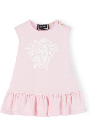 VERSACE Baby Pink Medusa Dress