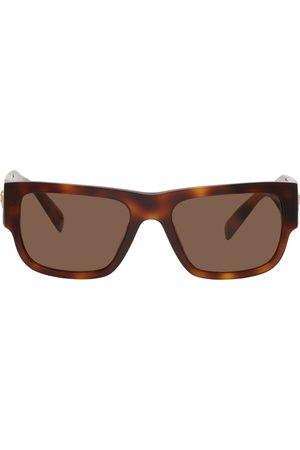 VERSACE Tortoiseshell Medusa Stud Sunglasses