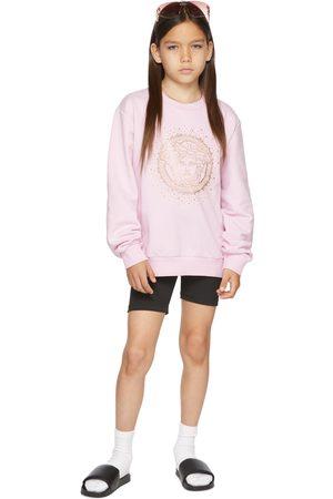 VERSACE Kids Pink Medusa Sweatshirt