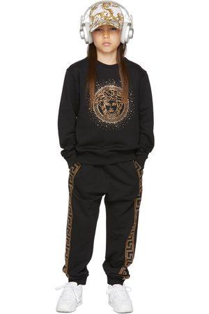 VERSACE Kids Black Medusa Sweatshirt