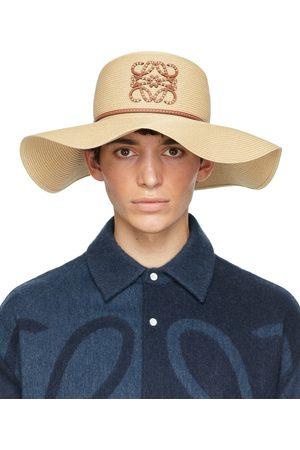 Loewe Beige Paula's Ibiza Paper Capeline Beach Hat