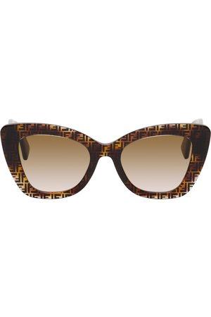 Fendi Tortoiseshell 'F is ' Sunglasses