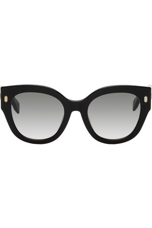 Fendi Black Roma Round Sunglasses