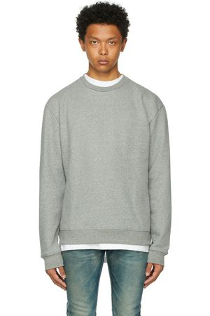 JOHN ELLIOTT Grey Oversized Pullover Sweatshirt