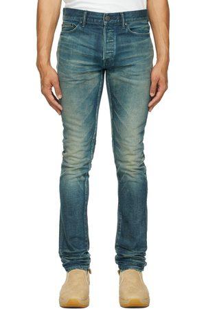 JOHN ELLIOTT Indigo 'The Cast 2' Jeans