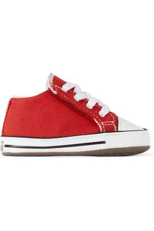 Converse Baby Red Easy-On Chuck Taylor All Star Cribster Sneakers