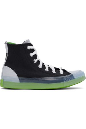 Converse Black & Grey Dramatic Nights All Star CX Hi Sneakers