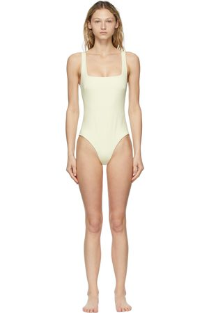 Bondi Born Off-White Margot One-Piece Swimsuit
