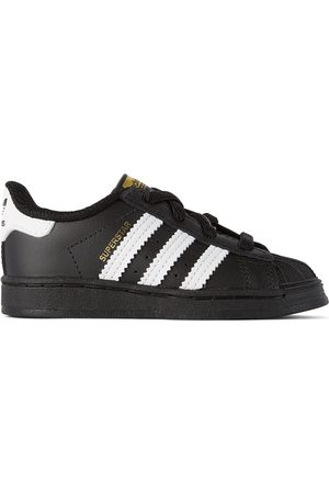 adidas Baby Black & White Superstar Sneakers