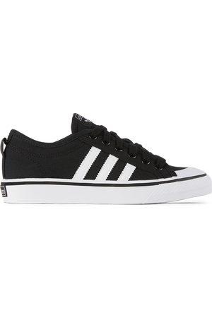 adidas Kids Black & White Nizza Sneakers