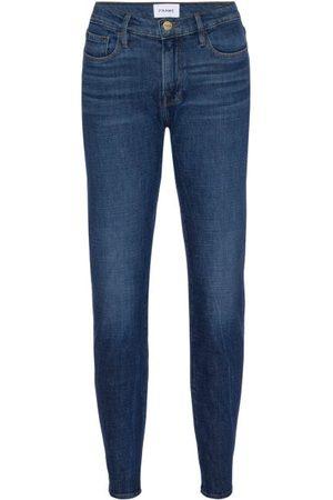 Frame Le Garcon Slim-leg Jeans - Womens - Mid Denim