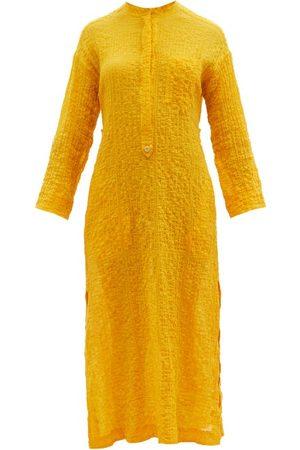 Three Graces London Women Beach Dresses - August Cotton-blend Voile Kaftan - Womens