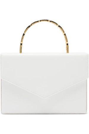 Amina Muaddi Amini Pernille Envelope Leather Box Bag - Womens - Multi