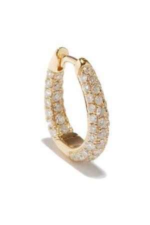 JACQUIE AICHE Diamond & 14kt Single Hoop Earring - Womens