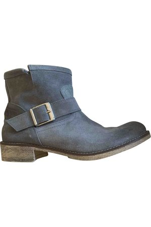 Benetton Suede Ankle Boots
