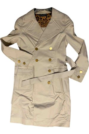 Dolce & Gabbana Cotton Trench Coats