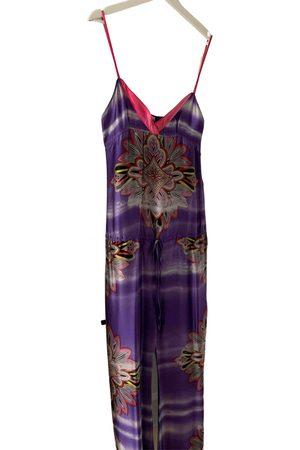 Custo Barcelona Silk Jumpsuits