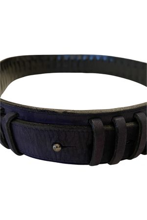 CLAUDE MONTANA Leather Belts