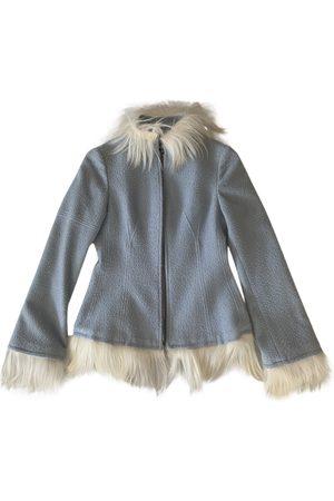 Roberto Cavalli Wool Leather Jackets