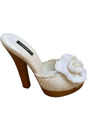 Dolce & Gabbana Cloth Mules & Clogs