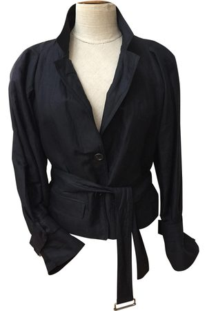DRIES VAN NOTEN Cotton Leather Jackets
