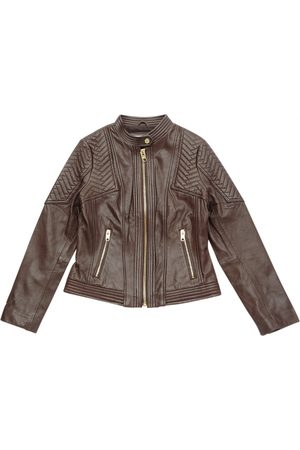 Michael Kors Leather Leather Jackets