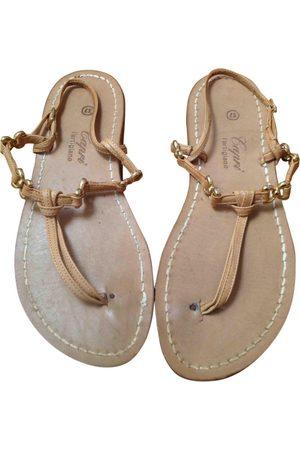 Capri Leather Sandals
