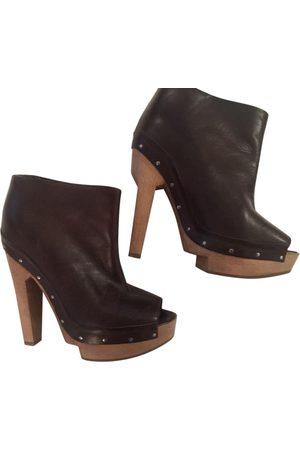 Marni Leather Mules & Clogs