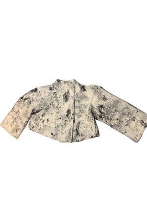 John Galliano Tweed short vest