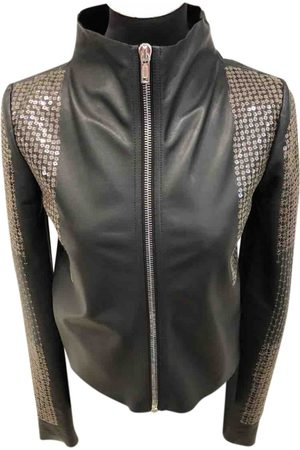RICK OWENS LILIES Leather Leather Jackets