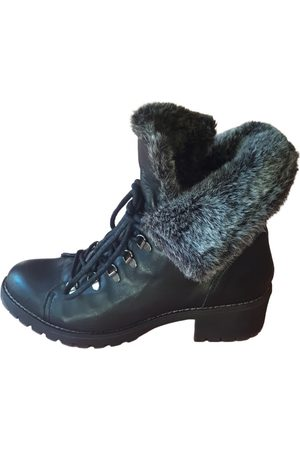 Buffalo Women Ankle Boots - Leather ankle boots