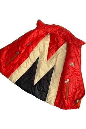 Moncler Polyester Leather Jackets