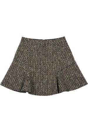 Carven Wool Mini Skirt