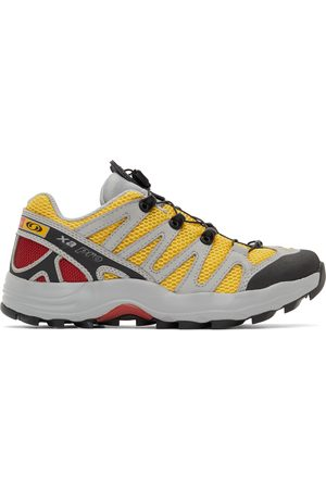 Salomon Men Sneakers - Grey and XA-Pro Fusion Advanced Sneakers