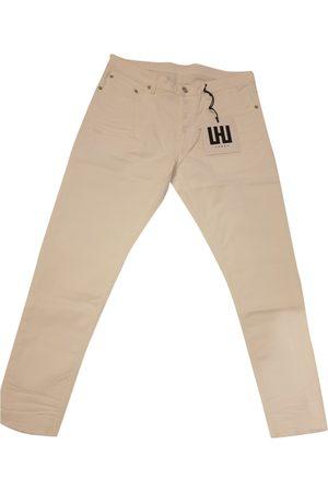 Les Hommes Cotton - elasthane Jeans