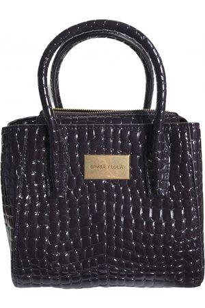 Bimba y Lola Patent leather handbag