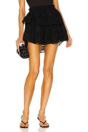 LOVESHACKFANCY Women Mini Skirts - Ruffle Mini Skirt in