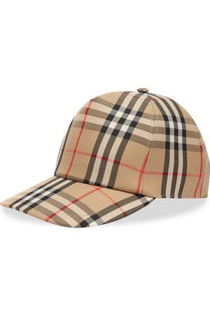 Burberry Men Caps - Checked Cap