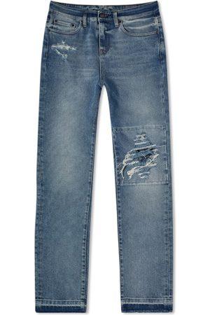 VAL KRISTOPHER Distressed Knee Jean